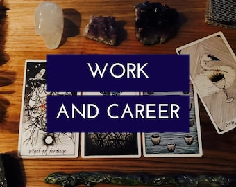 Find your Bliss: Work and Career Tarot Reading, Oracle Reading, Spiritual Guidance, Professional Psychic, Tarot Card Reading