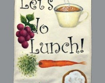 Canvas Lunch Sack