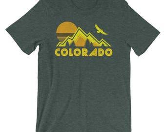 Colorado Shirt    Colorado   Colorado Gift   Colorado tshirt   Colorado State   Colorado shirts   Colorado t shirt   Retro Colorado Shirt