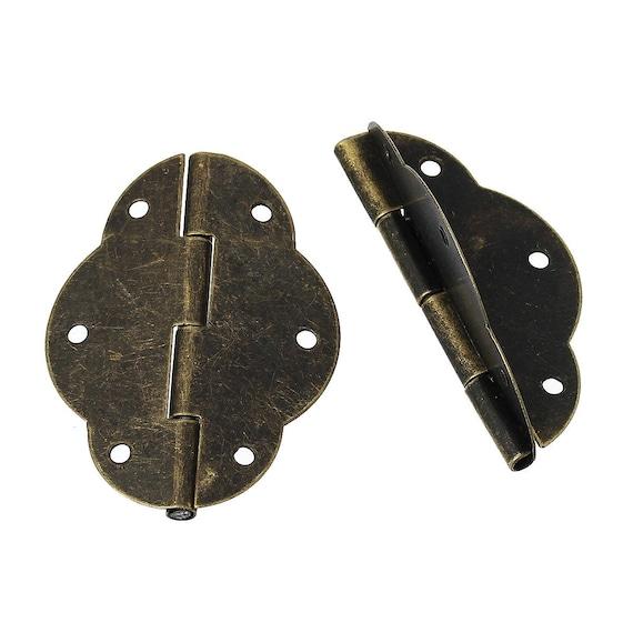 1 hinge - bronze - size: 56 mm