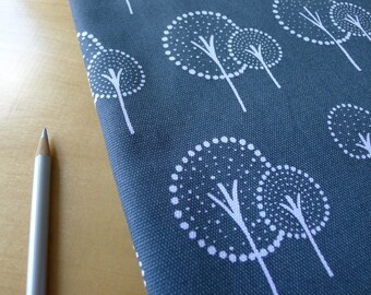 Glimma CANVAS Kulla Slate Grey Lotta Jansdotter for Windham - Half Yard - Home Decor Weight Cotton Fabric