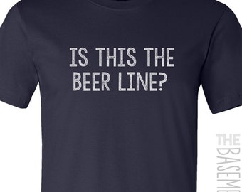 is this the beer line shirt - beer t-shirt - DARK t-shirt