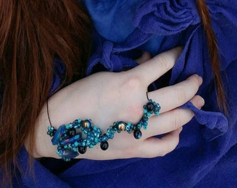 Ocean's enchantment matching hand jewelry