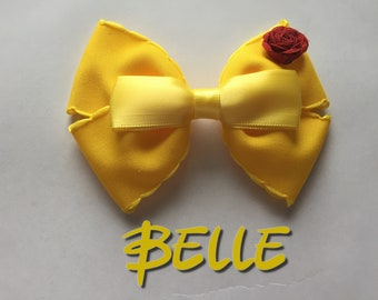 Disney Princess Belle Hair Bow/Clip/Headband