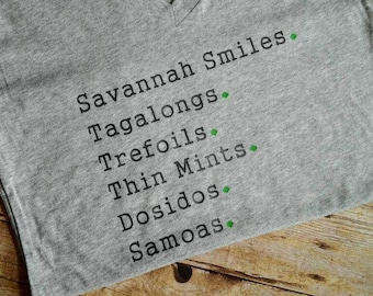 Girl Scouts, Girl Scout Cookies, Mom Shirt