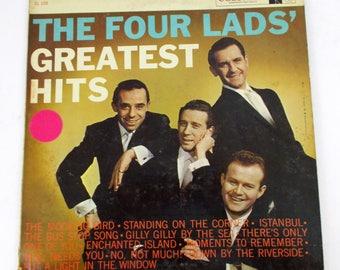 The Four Lads Greatest Hits Vinyl LP Record Album CL 1235