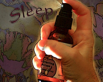 Sleep, Deep Relaxation, Body and Room Spray, Organic Reiki-Infused Bach Flower Essence Aromatherapy, Stress Reduction