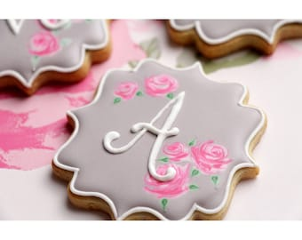 "COOKIE CUTTER - Fancy Square Plaque 3"" Product 8014 A"