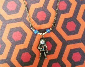 Astronaut Necklace