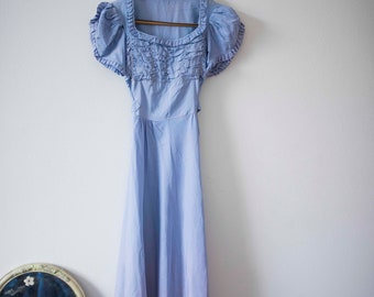 1940s Lavender Ombre Gown || Vintage Prom || Long Gown