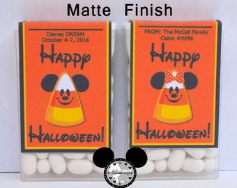 LABELS - Halloween Candy Corn Fish Extender Candy Labels - MouseTime!
