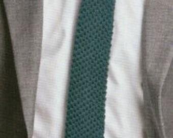 Hand-Knit Tie