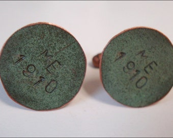 Maine State House Copper Roof Cuff-links - Limited Edition AC