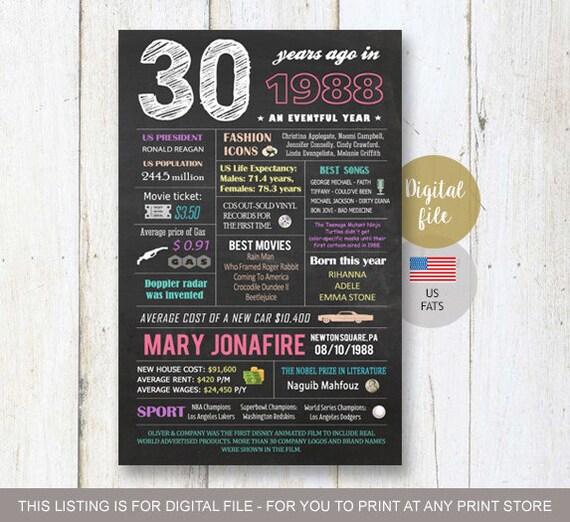 Dirty Thirty Fun Guys 30th Birthday Gift I Ll Need: 30th Birthday Gift Idea Personalized 30th Birthday Gift For