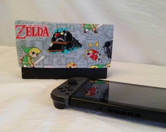 Zelda Nintendo Switch Dock Cover / Zelda / Screen Protector / Nintendo Accessories / Electronic Accessories / Zelda Accessories