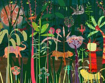 Jungle - signed giclee print