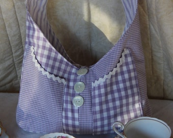 Sweet 16 Bag Kit Mauve/ Bag Pattern & Fabric/Bag Kit /Rosalie Dekker/Girls Bag/Fabric Bag/online fabric Australia. Free Shipping Available