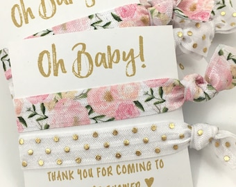 Custom Floral Baby Shower Favors | Baby Girl Shower Favors | Itu0027s A Girl |  Light