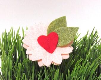 Valentine Flower, Puppy Petal, Valentines Day, Valentine Dog Flower
