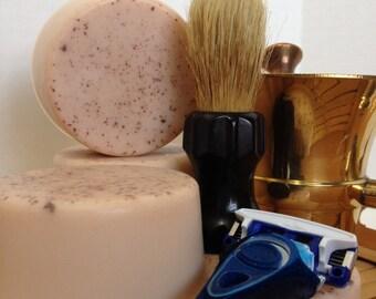 Rustic Sedona Natural Clay Shaving Soap - Alluring Musky Unisex Fragrance