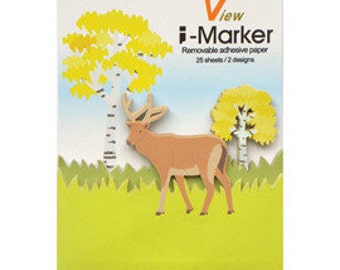 Deer Sticky Notes / Memo / Removable adhesive paper