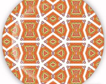 Plate, Melamine Plate, Decorative Plate, Plastic Plate - Mandarin No. 8