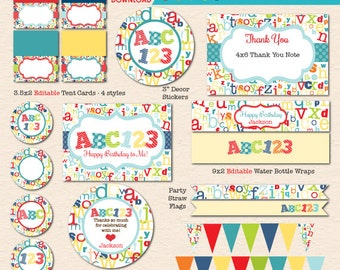 Printable party Etsy