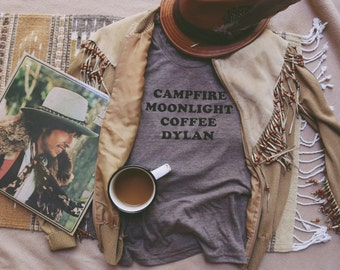 Campfire Moonlight Coffee Dylan Tee - Womens