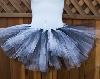 Black and White Tutu - Other Colors Available