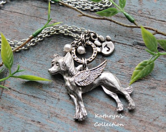 Chinese Crested Angel Necklace, Chinese Crested Jewelry, Pet Memorial Jewelry, Dog Sympath Gift