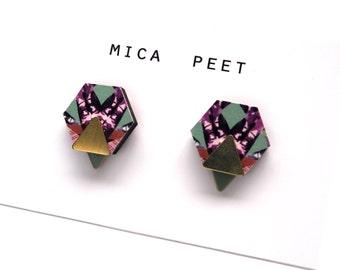 Hexagon Earrings - Geometric Earrings - Triangle Earrings - Gifts For Her - Gifts For Women - Gifts For Sister - Gifts For Friends - UK Shop