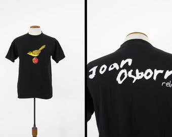 Vintage Joan Osborne T-shirt 90s Relish Black Tour Concert Shirt - Large
