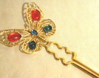 Vintage Butterfly Hair Accessory