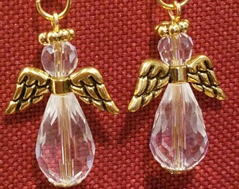 Angels- Gold and Clear