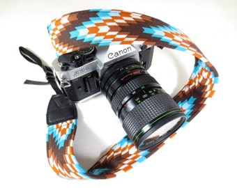 Southwestern Camera Strap - DSLR / SLR - 1.5 Inches Wide