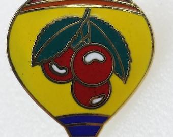Lapel Pin Grand Traverse Hot Air Balloon Fiesta Cherry Capital 1989 MI City