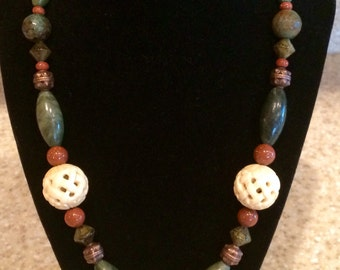 African Tribal Ethnic Necklace