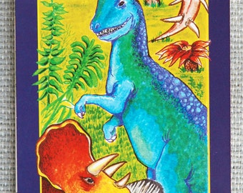 The World of the Dinosaurs Facts-n-Fun Book by Kaye Quinn 1986