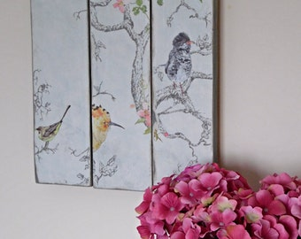 Decorative Wall Art, Wall Plaque, Wooden Wall Art