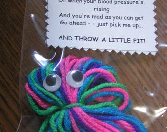 A LITTLE FIT Saying - HANDMADE - Gift - Stocking Filler - Gag Gift - Funny Gift - Cute Gift