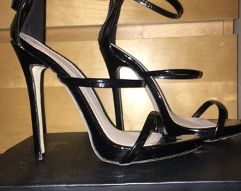 felicity black heels - Marco Gianni
