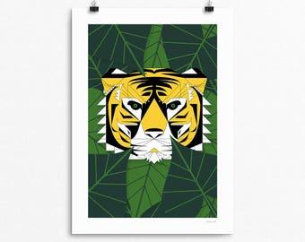 Tiger - signed Giclée print