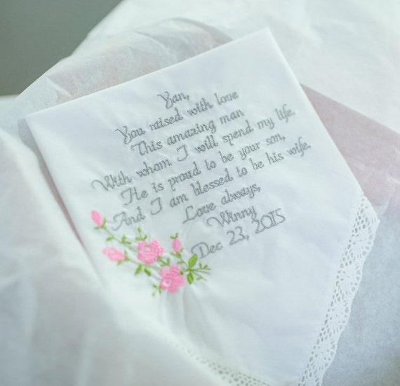 Wedding Gift From Groom: Mother Of The Groom Gift Mother Of The Groom Embroidered