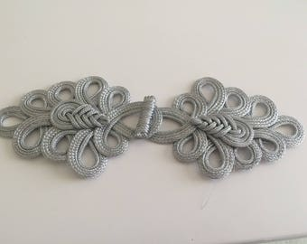 Silver Asian Brandenburg 22 cm long