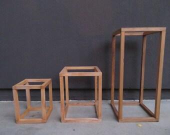 Modern Plant Stand / Minimal Planter /Contemporary Planter Stand