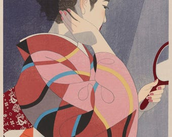 Japanese Kimono Art Print for Home Deco -8 (BUY 2 & GET 1 FREE)