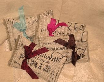 French Vintage Handmade French Lavender Sachet (Sachet 32)