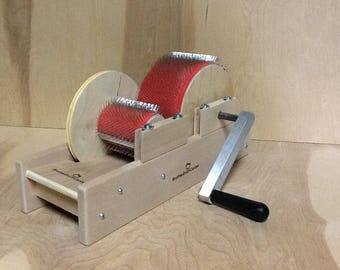 """New Baby Brother 4"""" wide mini size drum carder"""