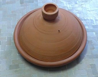 Moroccan Tajine for cooking unglazed