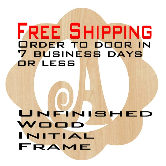 Unfinished Wood Aidan Frame Monogram, Name, Word, Custom, laser cut wood, wooden cut out, Nursery, Personalized, DIY